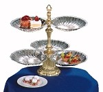 "NEP3S-2S-G Apex Fountains - Tiered Food Display, Neptune, 2-tier, 19""H"