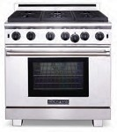 ARROB448X2GRN American Range - 4 Open Gas Burners 2 11in Grills Range NG