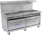 60-BP-6B-G24-S26 Bakers Pride - Restaurant Series Range,Gas, 60in.