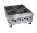 BPHHP-424I Bakers Pride - Heavy-Duty Countertop Range, (4) Burners, 120,000 BTU