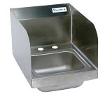 BKHS-D-SS-SS BK Resources - Space Saver Hand Sink, 9 x 9 in.