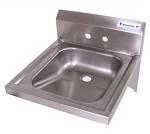 BKHS-W-ADA-S BK Resources - ADA Compliant Hand Sink, 14 x 16 in.