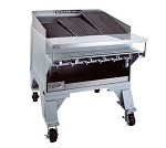 "CH-14 Bakers Pride - Charbroiler, gas, extra heavy duty, 73-1/2""W x 24""D broiling are"