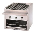 "C-72GS Bakers Pride - Charbroiler, gas, counter model, 72""W standard profile, 69""W x 2"