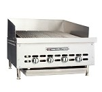 "XX-6 Bakers Pride - Charbroiler, gas, counter model, 31-1/2""W x 24""D broiling area,"