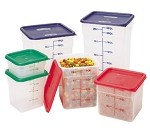 12SFSPP190 Cambro - CamSquare Food Container, translucent, w/ handles, 12 qt, 11-1/