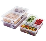 "14PP190 Cambro - Food Pan, translucent, full size, 4"" deep, polypropylene, NSF (s"