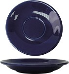 CAN-2-CB International Tableware - Cancun 5-1/2 in. Saucer, Cobalt Blue (Sold Per 3 Dozen)