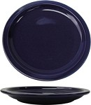 CAN-9-CB International Tableware - Cancun 9-1/2 in. Plate, Cobalt Blue (Sold Per 2 Dozen)