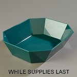 671679 Carlisle - Crock, 10lbs., Octagonal. This uniquely shaped food container co