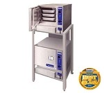 (2) 22CGT33.1 Cleveland Range - Double Stacked SteamChef Convection Steamer, Gas