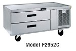 F2987C Delfield - Refrigerated 6 Drawer Equipment Stand, 87 in.