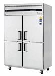 ESRH4 Everest Refrigeration - Reach-In Refrigerator, two-section, four half-doors, 48 cu. ft.