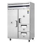 ESR2D2 Everest Refrigeration - Reach-In Refrigerator, two-section, 48 cu. ft. cap., digital control system
