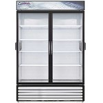 EMSGR48C Everest Refrigeration - Reach-In Glass Door Chromatography Refrigerator, two-sections, 48 cu. ft.