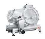 "GL250 Fleetwood Slicing - 10"" aluminum economy slicer.manual feed. Maximum slice thickness"