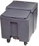 ICS125L Follett - Cambro Ice Cart, 125 lb cap., Mobile