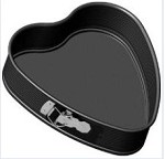 Z3743 Frieling - Springform, Heart shaped, Nonstick