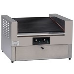 8423PE Gold Medal - Hot Diggity Hot Dog Grill w/Bun Cabinet
