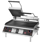 GR28IE Star Mfg. - Pro-Max Two-Sided Electric Grill, 2 Hinged Lids