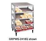 GRPWS-2424Q Hatco - Glo-Ray Pizza Warmer, Counter Top, Pass-Through, quad slant she
