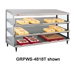 GRPWS-2424T Hatco - Glo-Ray Pizza Warmer, Counter Top, Pass-Through, triple slant s