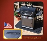 "HOLLBHA5100 Holland - Grill Mat - Durable Rubber 60"" x 30"" Mat"