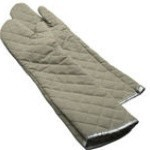 "336-15 Intedge - Thermotex II Oven Mitt, 15"", Beige, Flame retardant Thermotex"
