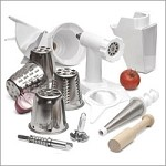 FPPA KitchenAid - Mixer attachment pack - rotor slicer, food grinder and fruit / v