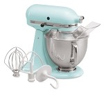 KSM150PSIC KitchenAid - Artisan Series Stand Mixer with Pouring Shield. 5 Qt. Ice in  Co