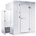 "P7-068-CS Kolpak - Outdoor Walk-In Cooler, Polar-Pak, 7'-6"" H, 5'-10"" W, 7'-9"" L, w"