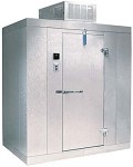 "P7-066-CT Kolpak - Outdoor Walk-In Cooler, Polar-Pak, 7'-6"" H, 5'-10"" W, 5'-10"" L,"
