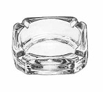 5143 Libbey - Glass Ash Tray, 3-3/4 Inch Square (3 Dozen)