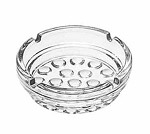5154 Libbey - Nob Hill Clear Glass Ash Tray, 4 In. Diameter (3 Dozen)