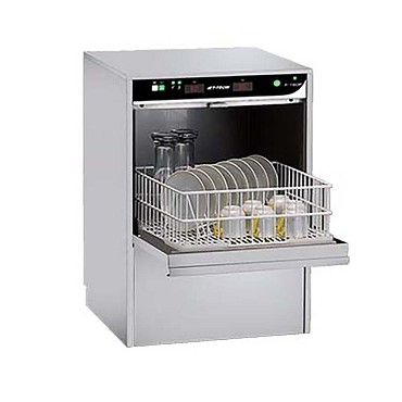 F-16DP Jet Tech Systems - Cup/Glass Washer, Undercounter Type, high temp. w/built-in boost
