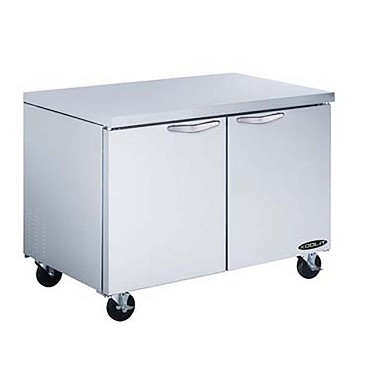 KUCF-48-2 Kool-It Reach-In Freezer, Undercounter, 48 inch , 12 cu. ft.