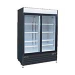 KSM-50 MVP - Kool-It Refrigerated Merchandiser, 50 cu.ft., 52 inch W x 79.5 inch H, (2) sliding glass