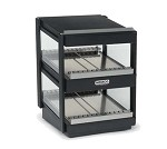 6480-18-B Nemco - Shelf Merchandiser, aluminum horizontal dual shelf, black
