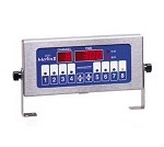 740-T8 Prince Castle - Timer, Electric, 8-channel, single function, bold LCD readout.