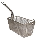 77 Prince Castle - Fry Basket. This fry basket comes with a front hook to easily ha
