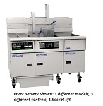 SE14RS-3FD Pitco Frialator - Solstice Fryer, Electric 50 Lb. Triple