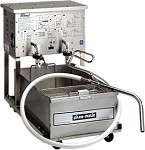 P24 Pitco Frialator - Mobile Fryer Filter, 160 lb. Capacity