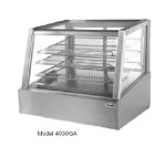 "4030GA Randell - Display Case, refrigerated, countertop, see-thru, 30""L, 27""D, 28"