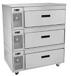 FX-3SS Randell - FX Series Single Section Work Table Refrigerator/Freezer, 46 in.