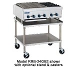 "RRB-24OB4 Royal Range - Broiler/Hot Plate, Gas, countertop, 48"" wide, 24"" radiant broiler section"