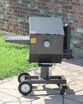 FF3 R & V Works - Cajun Fryer. 3-Basket Outdoor Fryer