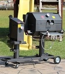 "FF2-20GC R & V Works - Cajun Fryer and 20"" Grill Combo"