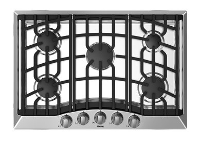 RVGC336-5B Viking Range - 36 in. Natural Gas Cooktop w/5 Burners