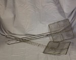 "SKIMMER R & V Works - Metal Fryer Skimmer. 6"" Square"