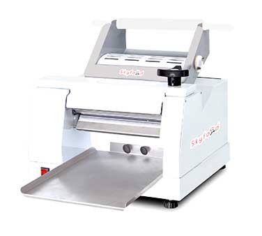 Clm 300 fleetwood slicing 12 table top dough roller and for Perfect kitchen equipment